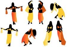Danseur de ventre illustration libre de droits