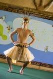 Danseur du Tahiti Photographie stock libre de droits