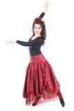 Danseur espagnol Image libre de droits