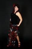Danseur espagnol attirant Photographie stock