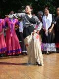 Danseur espagnol excessif Photo stock