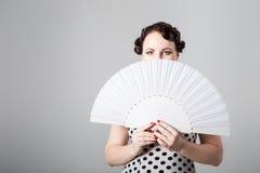 Danseur espagnol féminin de flamenco Images libres de droits