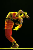 Danseur ethnique chinois d'Uigur Image stock