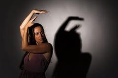Danseur expressif photographie stock libre de droits