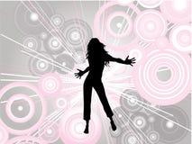 Danseur féminin illustration libre de droits