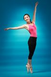 Danseur féminin Photos stock