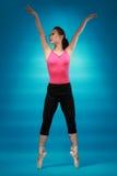 Danseur féminin Photo stock