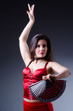 Danseur féminin Images libres de droits