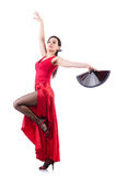 Danseur féminin Photographie stock libre de droits