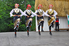 Danseur féminin, Lulin, Bulgarie Photos libres de droits