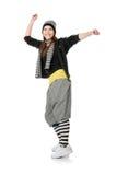 Danseur génial images libres de droits
