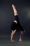 Danseur gracieux Photo libre de droits