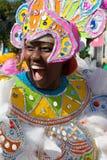 Danseur heureux à Nassau Images stock