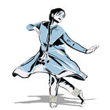 Danseur indien Photographie stock