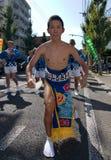 Danseur japonais de festival Photo stock