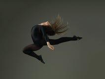 Danseur Jumping images libres de droits