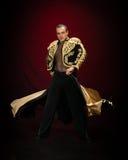 Danseur mâle. Photographie stock libre de droits