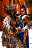 Danseur maya de célébration Photographie stock