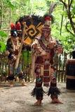 Danseur maya de célébration Images stock