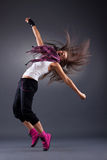 Danseur moderne de type Image stock