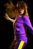Danseur moderne de type Image libre de droits