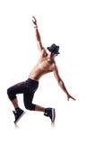 Danseur nu Photo stock