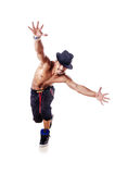 Danseur nu Photographie stock