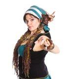 Danseur oriental Photos libres de droits