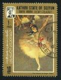 Danseur par Edgar Degas photos stock