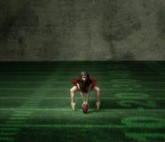 Danseur prêt pour le superbowl Photo libre de droits