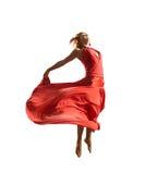 Danseur rouge Photo stock