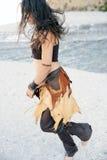 Danseur tribal de fleuve Image libre de droits