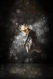 Danseur urbain d'houblon de hanche image stock