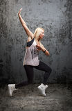 Danseur urbain d'houblon de hanche Photographie stock
