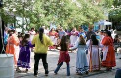 Danseurs à Memphis Music et au festival d'héritage Images libres de droits