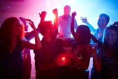 Danseurs énergiques Images stock