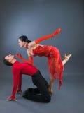 Danseurs Photos stock