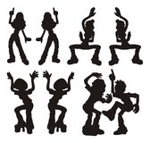 Danseurs Photo libre de droits