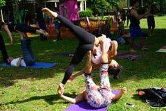 Danseurs acrobatiques 9 Photos stock