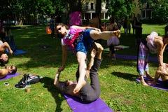 Danseurs acrobatiques 13 Photo libre de droits