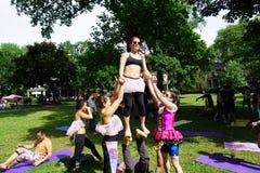 Danseurs acrobatiques 16 Images libres de droits