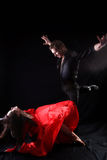 danseurs d'action Photo stock