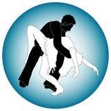 Danseurs d'homme et de femme   Photo libre de droits