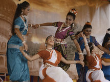 Danseurs d'Inde image libre de droits