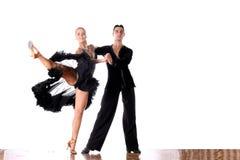 Danseurs dans la salle de bal Image libre de droits