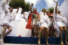 Danseurs dans le costume Image libre de droits