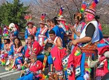 Danseurs de Boliviana   Photographie stock libre de droits