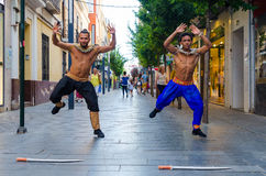 Danseurs de Bollywood Image stock