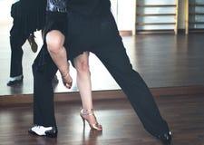 Danseurs de danse de salle de bal Images stock