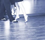 Danseurs de danse de salle de bal Photographie stock